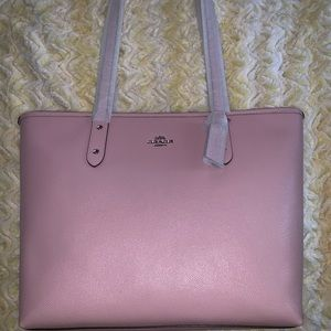 Authentic COACH city zip tote handbag